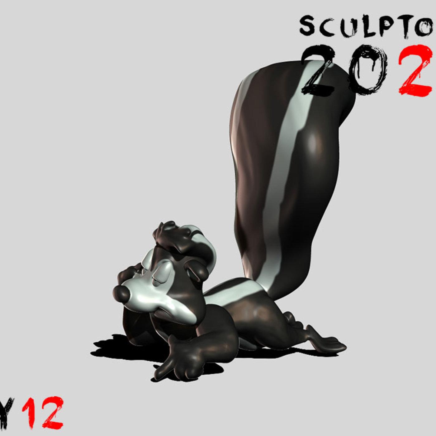 Sculptober Day 12 Smell