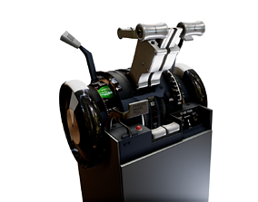 B737 Throttle 3D model