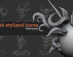 Free horns pack 3D model