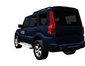 Mahindra Scorpio 3D asset
