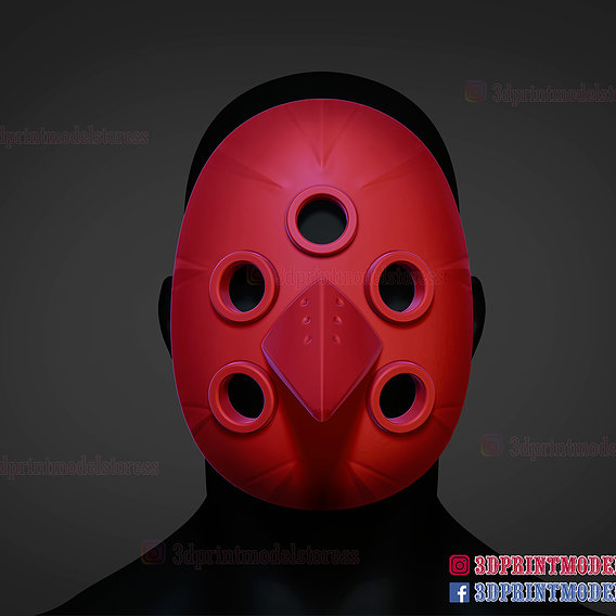 Tokyo Ghoul Uta Cosplay Mask