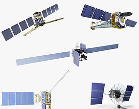 3D model Satellite Collection