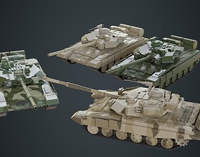 Tank 1A 3D asset