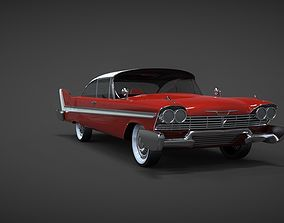 cud 3D model Plymouth fury sport 1958 Christine