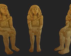 3D asset Pharaoh