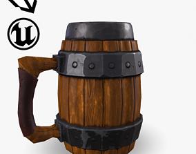 3D asset Fantasy Beer Mug