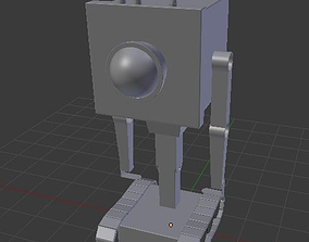 Rick and Morty Robot 3D