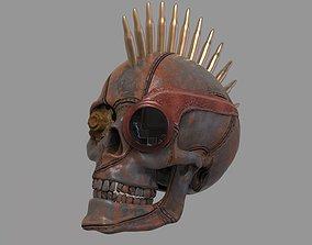 3D Steampunk Skull