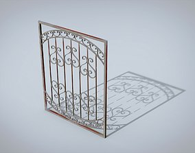 Window lattice 3D model