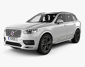 3D Volvo XC90 Heico with HQ interior 2016