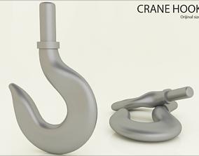 Original Size CRANE HOOK Ready for print 3D print