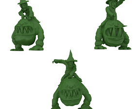 3D printing ready fantasy creatures