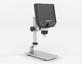 3D model Portable LCD Digital Microscope