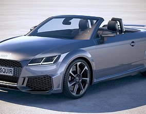 3D Audi TTRS Roadster 2020