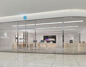 Apple Store 3D model interior