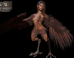 HarpyGameReady 3D asset