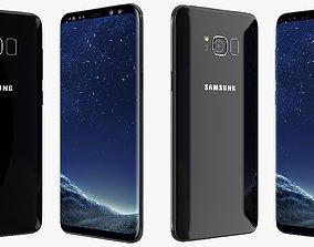 model Samsung Galaxy S8 Midnight Black 3D model