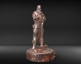Thor statuette 3D printable model