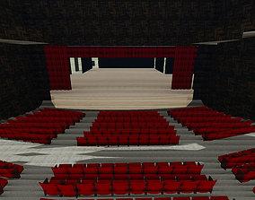 3D model OPERA HOUSE FOR KARTAL PROVINCE