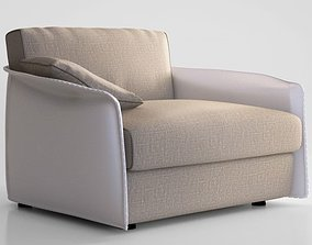 Giorgetti Fabula armchair 3D model