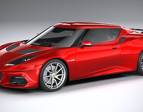 Lotus Evora GT410 2020 3D model