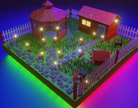 3D model realtime Garden