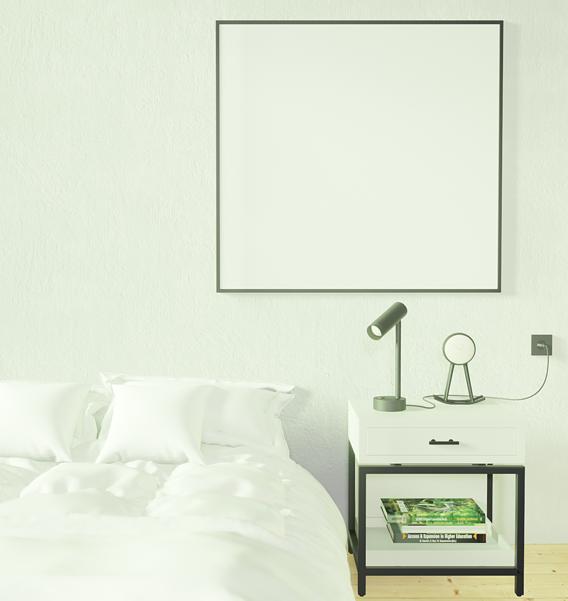 Realtime Archviz Typical Black & White Bedroom