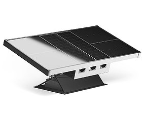 Solar Panel 3D Model panel