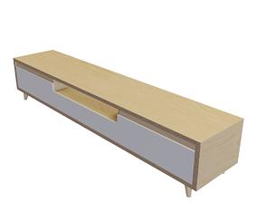 3D asset TV cabinet Furniture