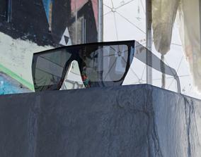 3D asset Sunglasses Low Poly