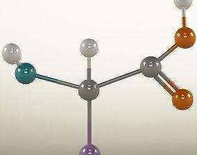 3D Molecule Amino Acid
