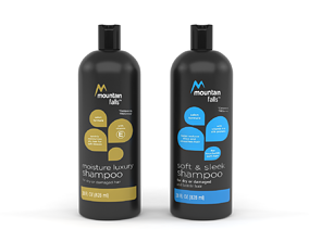 Mountain Falls Shampoo 3D model