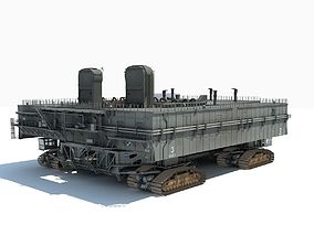 NASA Crawler with Mobile Launch Platform 3D