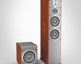 JBL Speaker System 3D