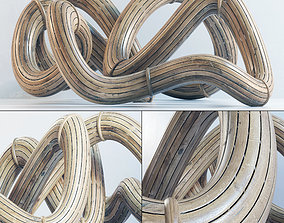 3D Parametric wood tamplet Hall n1