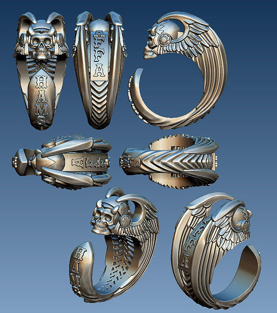 Hell Angels ring