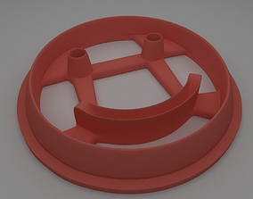 3D printable model Smile Face Cookie Cutter