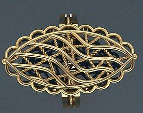 Ring 24 3D print model brilliant