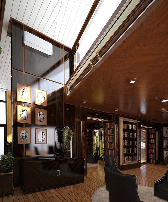 Club house interior design