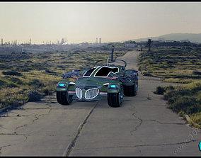 Hexa Car 3D model