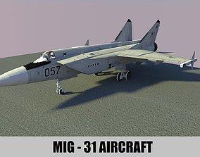 3D model MIG - 29 AIRCRAFT