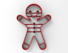 3D print model Ginger Cookie cutter