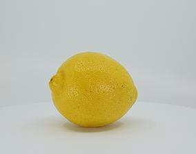 3D model low-poly Realistic - Lemon