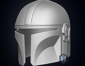 armor 3D printable model The Mandalorian Helmet
