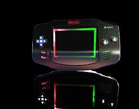 3D model Nintendo Gameboy Advance