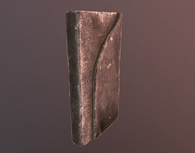 Oriental Grave Stone 3D asset