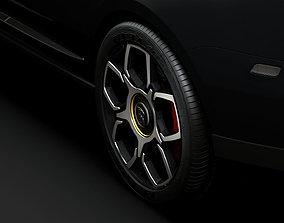 3D model Rolls Royce Black Badge Cullinan 2020 wheel