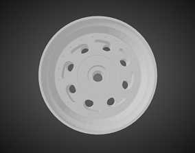 3D print model F52 Teardrop rims for Hot Wheels