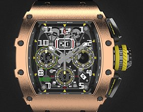 Richard Mille RM 11-03 watch 3D