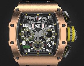 Richard Mille RM 11-03 watch 3D